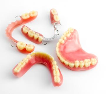 Several sets of dentures | Dentist in Orlando FL
