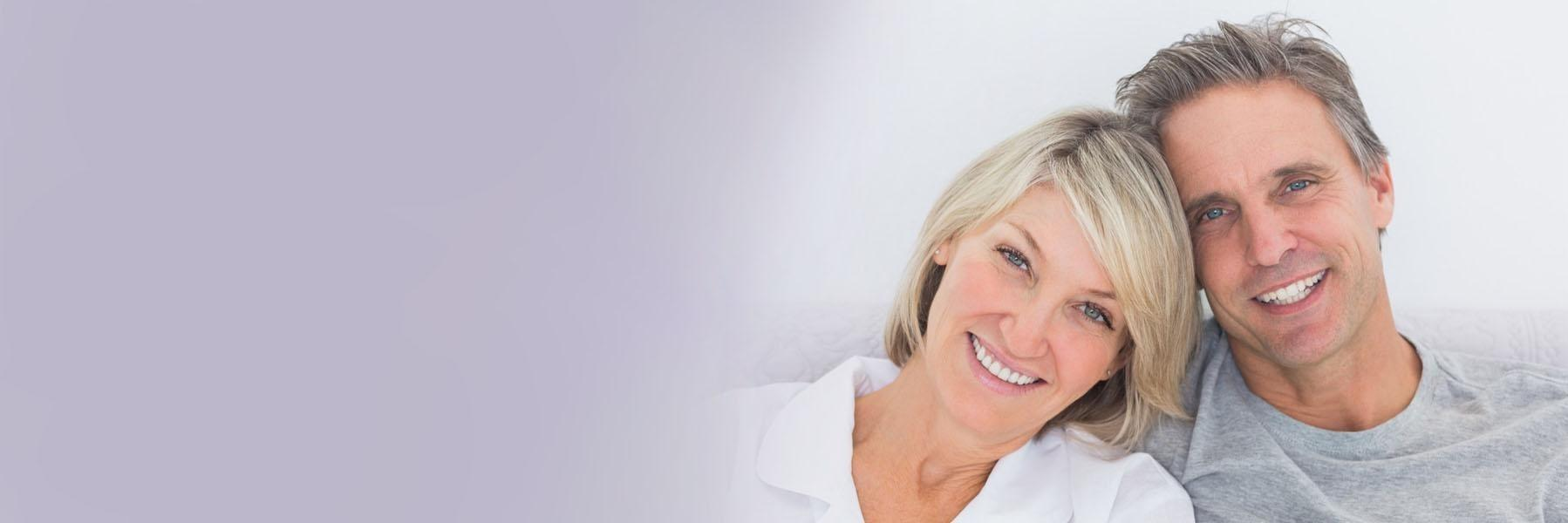 Couple with dental implants in orlando fl