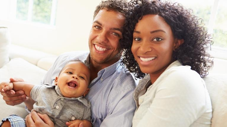 Smiling Family | Dental Crowns in Orlando